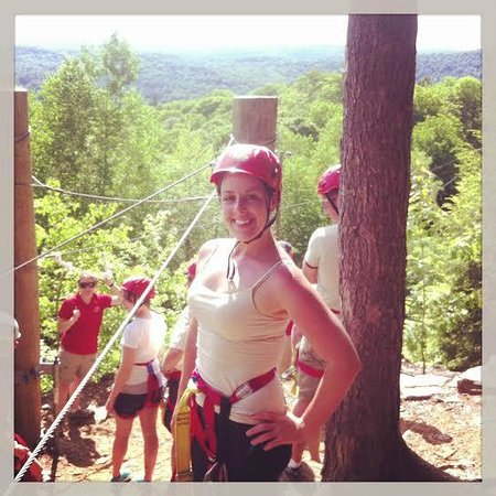 Berkshire East Canopy Tours: Getting ready to zip!
