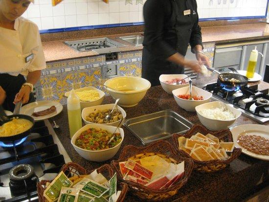 Senator Marbella Spa Hotel: Good cooked breakfast