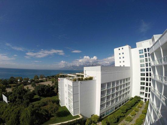 Hotel Su: Balcony view