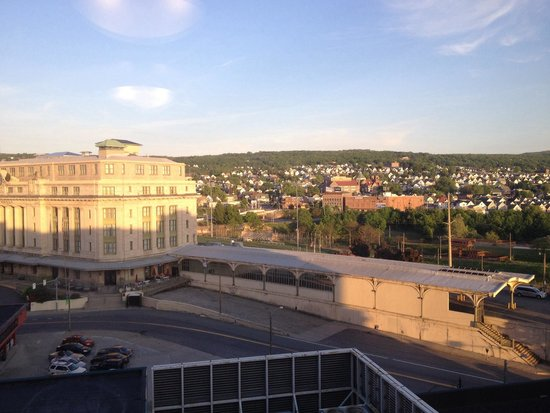 Hilton Scranton & Conference Center: View from room