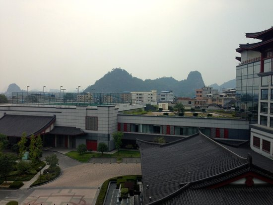 Shangri-La Hotel Guilin: View of mountains