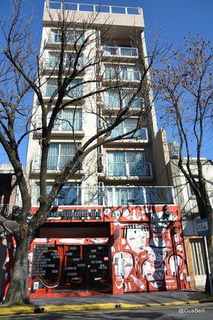 Fierro Hotel Buenos Aires: Fachada moderninha