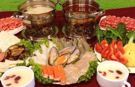 Modern China Hotpot Buffet