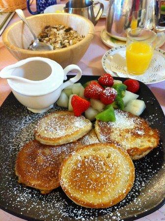 Ben View House: Breakfast