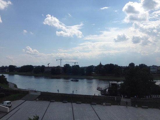 Pod Wawelem Hotel: Uitzicht kamer /View Room 307