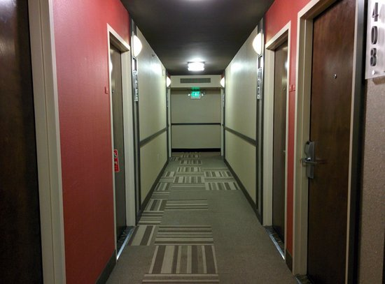 Hotel Rose - A Piece of Pineapple Hospitality: Hallway (4th Floor)