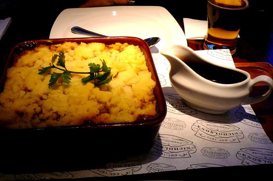 The Wellington: cottage pie