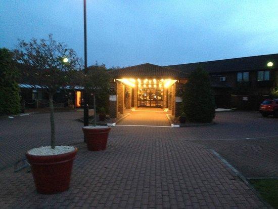 Peterborough Marriott Hotel: Entrance