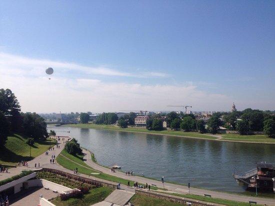 Pod Wawelem Hotel: Uitzicht dakterras / View terrace