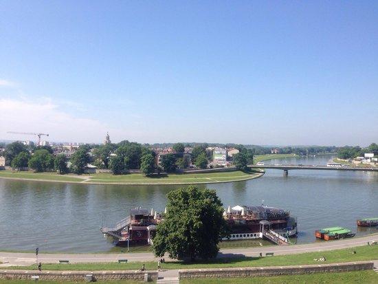 Pod Wawelem Hotel : Uitzicht dakterras / View terrace