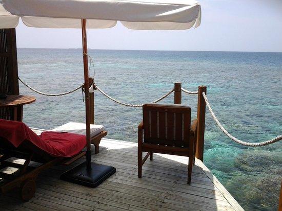 Mirihi Island Resort: zimmer mit aussicht