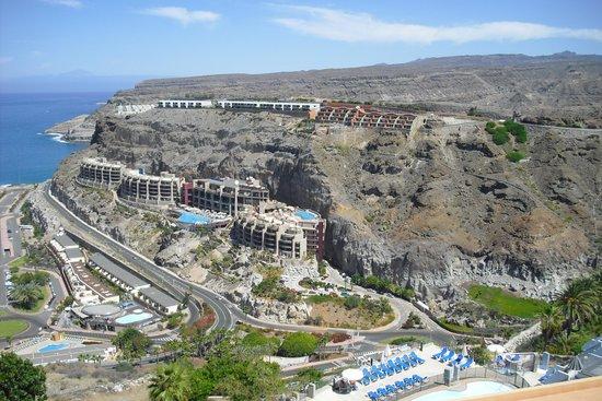 Gloria Palace Royal Hotel & Spa: Hotel von oben gesehen