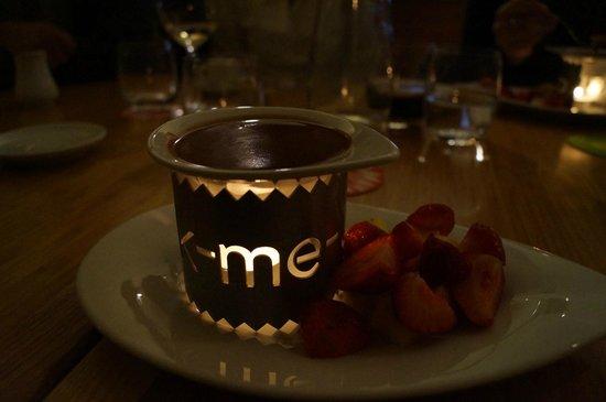 Brasileiro U Radnice : desert - chocolate fondue