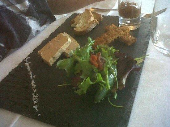 Restaurant Punta Lara: foie gras