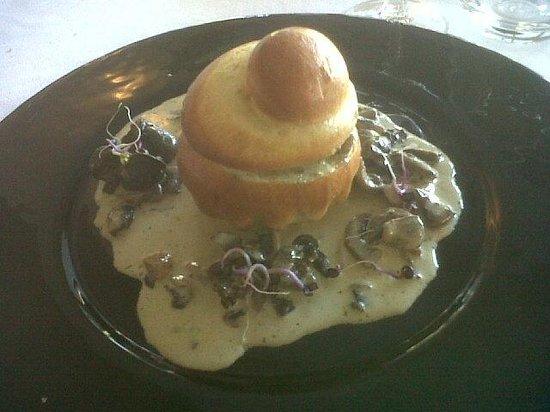 Restaurant Punta Lara: briochette d escargot
