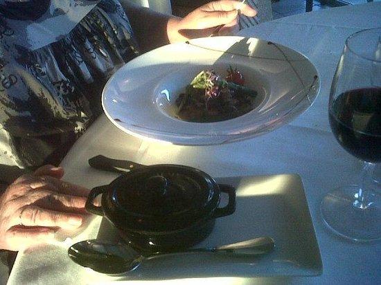 Restaurant Punta Lara: croustillant ris de veau