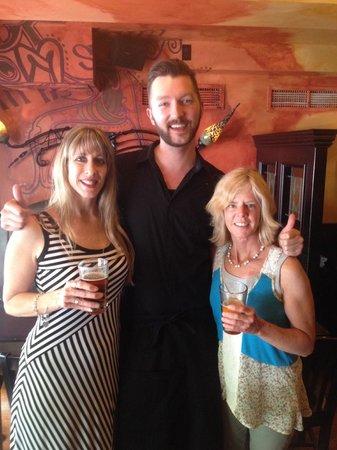 Solas Pub: Kevin, the best waiter ever!
