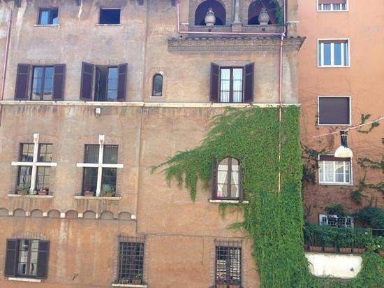 Capo d'Africa Hotel: vista da sacada do meu quarto