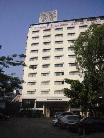 Bangkok Centre Hotel : 改装前ホテル外装
