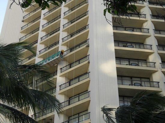 Hyatt Regency Waikiki Resort & Spa: 8th floor from the ground