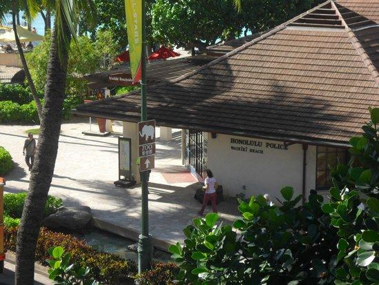 Hyatt Regency Waikiki Resort & Spa: honolulu police station
