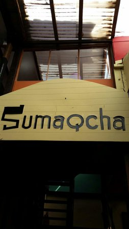 Restaurant Sumaqcha: Name of the restaurant