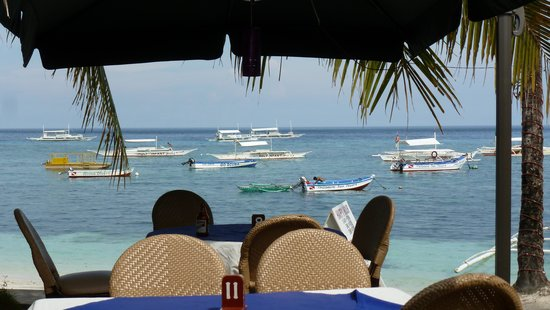 Lost Horizon Beach Dive Resort: View from the restaurant