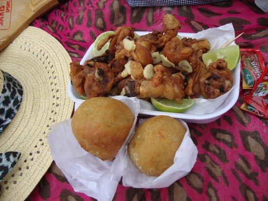 Praia do Tenorio: Almuerzo