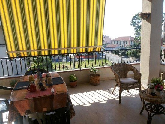 B&B Nereidi : veranda
