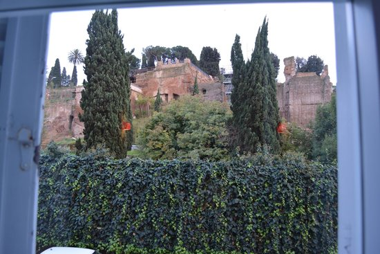 Kolbe Hotel Rome: View from our room