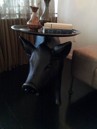 The Hotel Modern : Pig Table