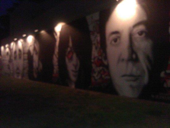 Clematis Street : street art