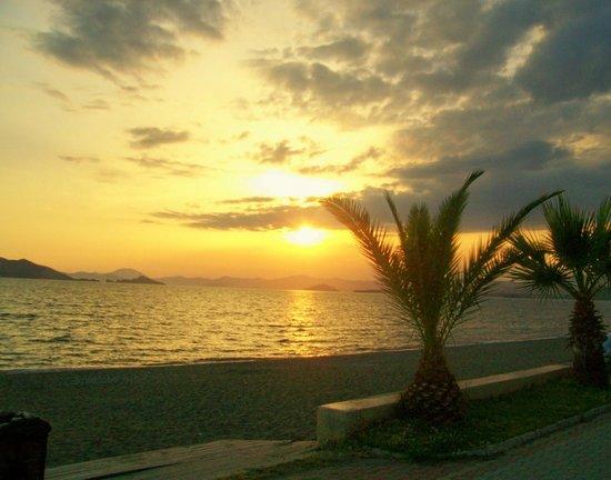 Sunset at Calis Beach Fethiye