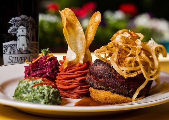 Stiegler's Austrian Restaurant & Bar: Zwiebel Steak