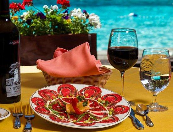Stiegler's Austrian Restaurant & Bar: Carpaccio Merano