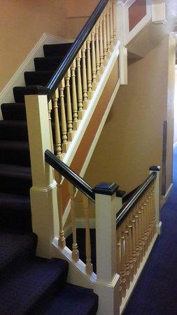 Sheldon Hotel : лестница