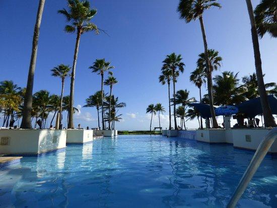 Caribe Hilton San Juan: View from hotel