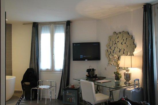 Atelier Montparnasse : habitación