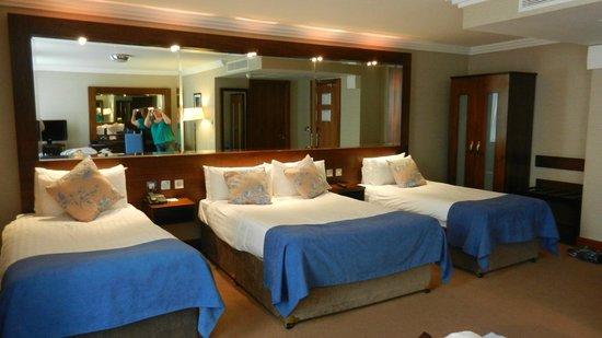 Ashling Hotel: Classic triple