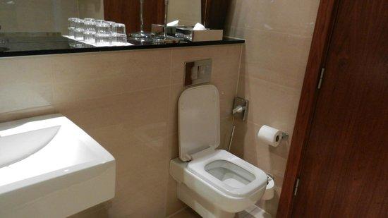 Ashling Hotel: Toilet