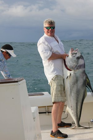 Hooked On Panama Fishing Lodge : Big Rooster