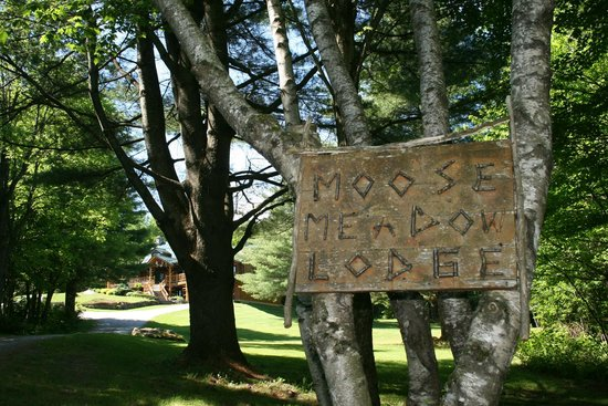 Moose Meadow Lodge: Entrance to the property