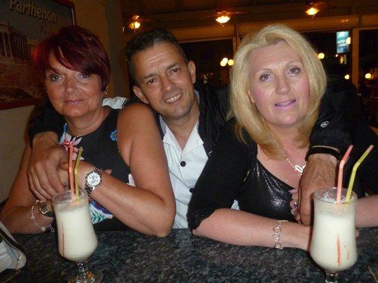 Parthenon Restaurant: Sandra, chef & Gill