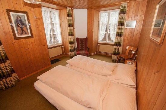 Hotel Bären Guttannen: Alle Zimmer haben einen eigenen Charakter.