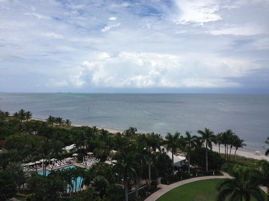 The Ritz-Carlton Key Biscayne, Miami: View from our 8th floor room