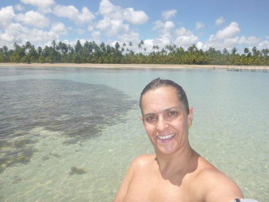Sao Miguel dos Milagres Beach: Águas cristalinas!