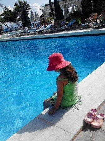 Aristoteles Beach Hotel: pool