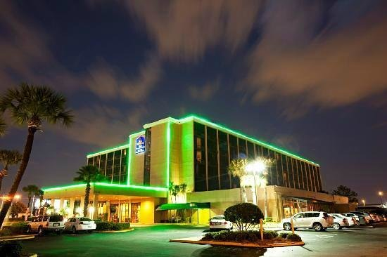 Best Western Orlando Gateway Hotel: Vista Externa do Hotel