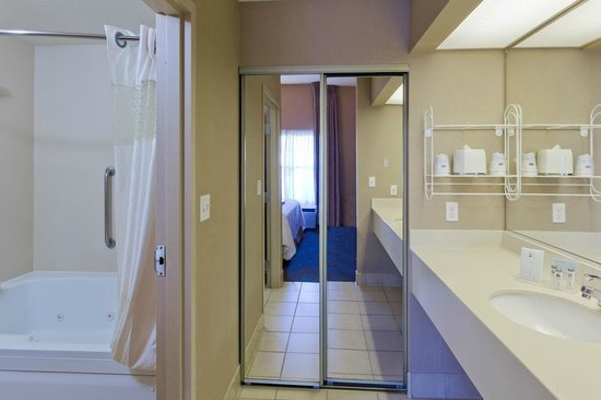 Hampton Inn & Suites Goodyear: Standard guest bathroom