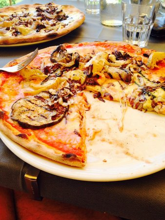 Ristorante Pizzeria Miralago: Pizza ortolana